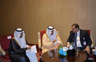 """""""سعفان"""" يبحث مع وزير العمل السعودي الربط الإلكتروني"""
