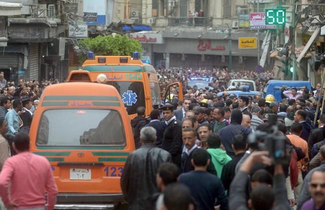 ارتفاع عدد ضحايا انفجار كنيسة طنطا إلى  بعد وفاة فادي رمسيس بمعهد ناصر