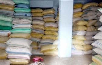 ضبط 200 طن أرز خزنها 3 تجار بالبحيرة