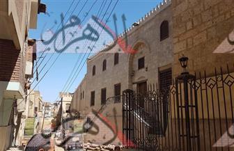 """بالصور.. محافظ سوهاج يوجه بتطوير منطقة مسجد """"الأمير حسن"""""""