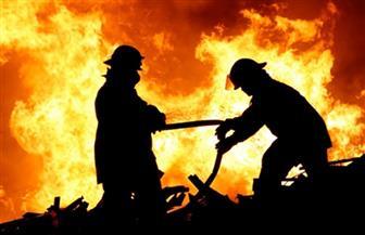 إصابة عامل في حريق بمقهى بمركز إطسا بالفيوم