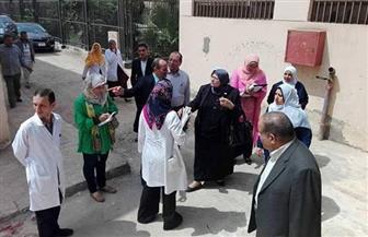 بالصور.. وكيلة صحة المنوفية تتفقد مستشفى شنتنا الحجر ومركز المسنين بجنزور
