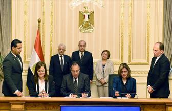 """رئيس الوزراء يشهد توقيع بروتوكول بين المجتمعات العمرانية و""""تطوير التعليم"""" لبناء 25 من مدارس النيل"""
