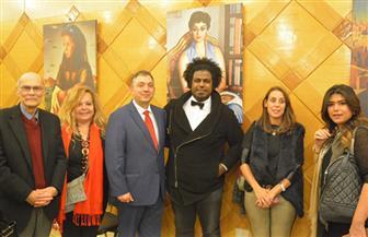 بالصور.. حفل توقيع كتالوج أعمال الفنان المصرى العالمى محمود سعيد بمكتبة القاهرة