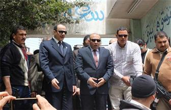 """بالصور.. محافظ المنوفية ومدير الأمن يتفقدان اللجان الانتخابية بدائرة """"تلا - الشهداء"""""""