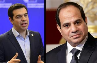 السيسي يتلقى اتصالًا من رئيس الوزراء اليوناني لتقديم التعازي في ضحايا الإرهاب