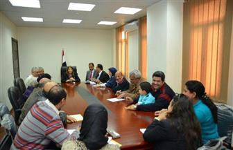 بالصور.. محافظة الإسكندرية تتابع استقرار الأسر المسيحية القادمة من العريش
