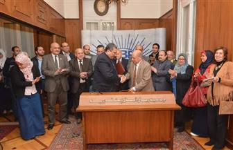 """""""رجال أعمال إسكندرية"""" توقع اتفاقية تعاون مع مشروع تحسين كفاءة الطاقة"""