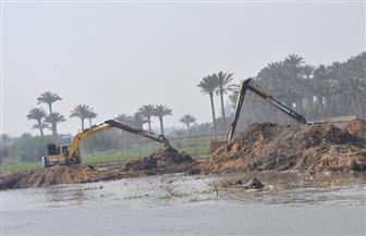 إزالة التعديات الواقعة على نهر النيل غرب الإسكندرية