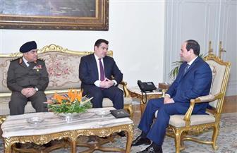 السيسي يستقبل وزير الدفاع القبرصي ويتطلع  لمواصلة تطوير التعاون العسكري بين البلدين