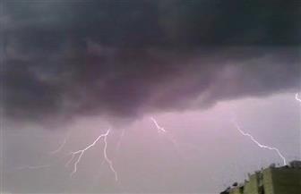برق ورعد وسقوط أمطار فى القاهرة وعدد من المحافظات