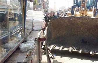 تحرير 122 محضر متنوع في حملة مكبرة لإزالة الإشغالات بمطروح