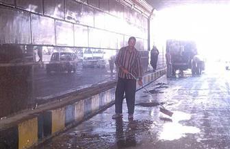 أمطار رعدية تقطع الكهرباء عن عشرات القرى والمدن بالشرقية