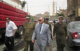 بالصور.. مدير أمن أسوان يتفقد قوات تأمين الكنائس قبل صلاة خميس العهد