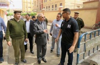 مدير أمن بنى سويف يتفقد كنائس المحافظة