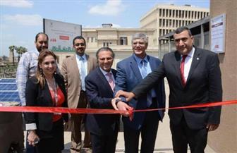 جامعة القاهرة وABB يفتتحان محطة طاقة شمسية لتغذية مبنى المكتبة ومبنى الجهد العالي بكلية الهندسة