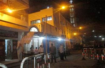 حكمدار أسيوط  ورئيس المباحث الجنائية يتفقدان  الخدمات الأمنية بمحيط الكنائس
