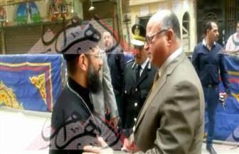 بالصور.. استنفار أمني بكافة مناطق القاهرة.. ومدير الأمن يتابع إجراءات تأمين الكنائس