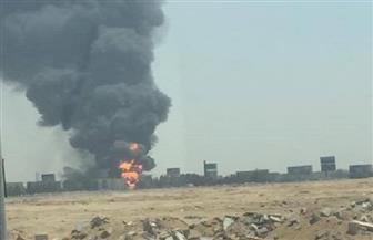 تفحم 10 سيارات في انفجار خط الغاز بمنطقة كرموز بالإسكندرية