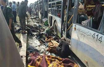 """عشرات القتلى في تفجير """"مهجري المدن السورية"""""""