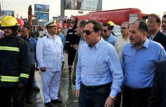وزير البترول يتفقد مشروع الشركة المصرية للتكرير ومعمل القاهرة بمنطقة مسطرد