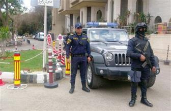 مدير أمن الجيزة يتفقد إجراءات تأمين الكنائس ويتأكد من يقظة القوات