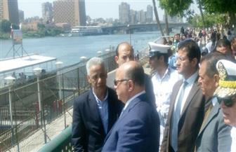 مدير أمن القاهرة يتفقد الخدمات الأمنية بالمتنزهات والميادين في شم النسيم