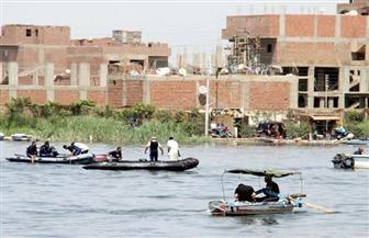"""""""المسطحات المائية"""" تزيل التعديات الواقعة على بحيرة مريوط بالإسكندرية"""