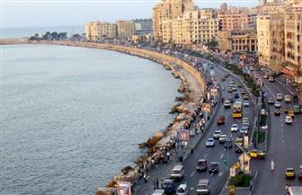 حقيقة إقامة سور خرساني على طول شاطئ كورنيش الإسكندرية