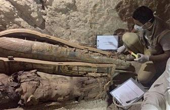 ننشر صور القطع الأثرية المكتشفة غرب الأقصر