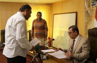 """""""سامي"""" يكلف وكيل وزارة الشباب والرياضة بإقامة سور لمركز منشأة عبدالله بالفيوم"""