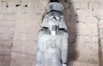 بدء أعمال إعادة تجميع تمثال آخر لرمسيس بمعبد الأقصر