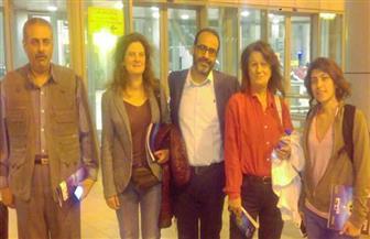وصول أعضاء لجنة تحكيم مهرجان الإسماعيلية للأفلام القصيرة | صور
