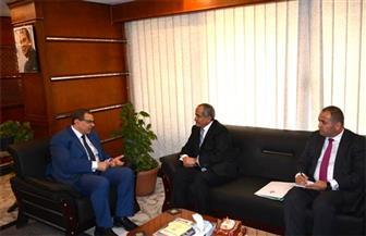 """خلال لقاء """"سعفان"""" والسفير الأردني.. تصويب أوضاع 120 ألف عامل منهم مصريون بنسبة 73%"""