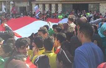"""200 طالب يشاركون فى الاحتفال بـ""""اليوم العالمى للرياضة"""" فى الوادى الجديد"""