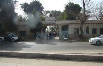 """رفع 13 سيارة متهالكة من أمام """"متحف الشمع"""" فى حلوان"""