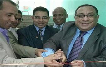 بالصور.. نجم يفتتح قاعة مجلس كلية التعليم الصناعي بجامعة حلوان