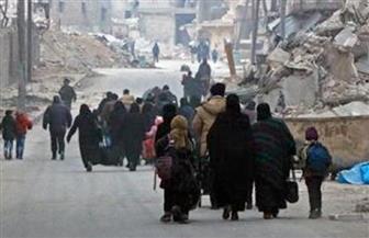 حوالى أربعة آلاف شخصٍ متوقفون منذ ساعات قرب حلب بعد إجلائهم