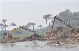 """""""المسطحات المائية"""" بالإسكندرية تزيل 36 حالة تعدٍ على ترعة المريوطية"""