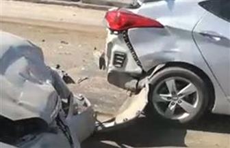 """مصرع شخص وإصابة 5 آخرين في تصادم 9 سيارات بطريق """"مصر - إسكندرية"""" الصحراوي"""
