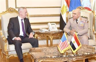 """وزير الدفاع الأمريكي يؤكد لـ""""صدقي صبحي"""": ندعم جهود مصر في مواجهة الإرهاب"""
