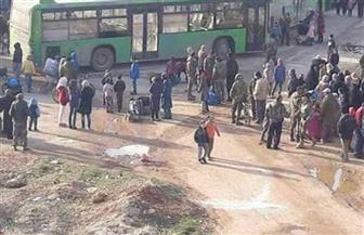 استئناف إجلاء سكان بلدات سورية محاصرة بعد 48 ساعة من التأخير