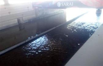 تحويلات مرورية أعلى الدائري بسبب تجدد كسر ماسورة مياه بالقاهرة الجديدة