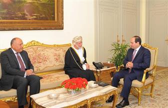السيسي يستقبل وزير الشئون الخارجية بعمان ويؤكد تعزيز مستوى التنسيق والتشاور بين البلدين  صور