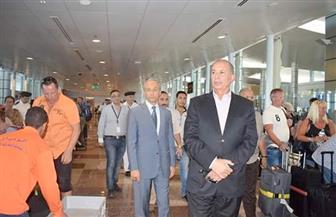محافظ البحر الأحمر ومدير الأمن يتفقدان الحالة الأمنية وإجراءات السفر بمطار الغردقة