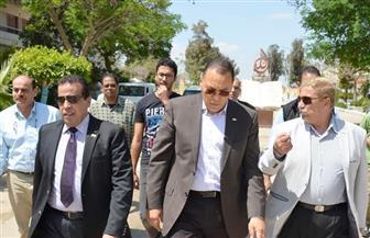 محافظ الإسماعيلية ورئيس جامعة القناة يتفقدان أماكن إقامة ضيوف مؤتمر الشباب |صور