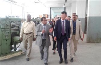السفير الكوري يختتم زيارته لجامعة أسيوط بجولة لمتابعة المشروعات المشتركة | صور