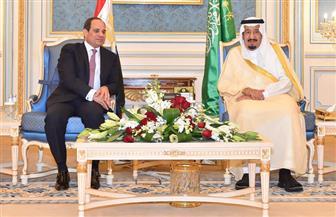 """الملك سلمان يعزي الرئيس السيسي في ضحايا حريق """"قطار محطة مصر"""""""