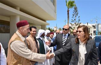 وزيرة التخطيط في مطروح لافتتاح المركز التكنولوجي ومعهد أزهري ووحدة صحية بـ 14 مليون جنيه