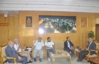 مؤسسة الشيخ محمد بن راشد آل مكتوم في زيارة لجامعة كفرالشيخ